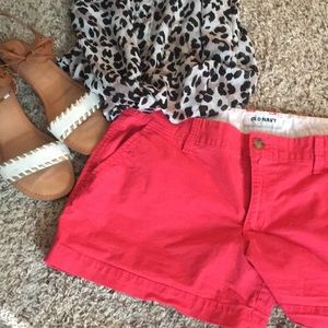 Old Navy Coral Women's Shorts